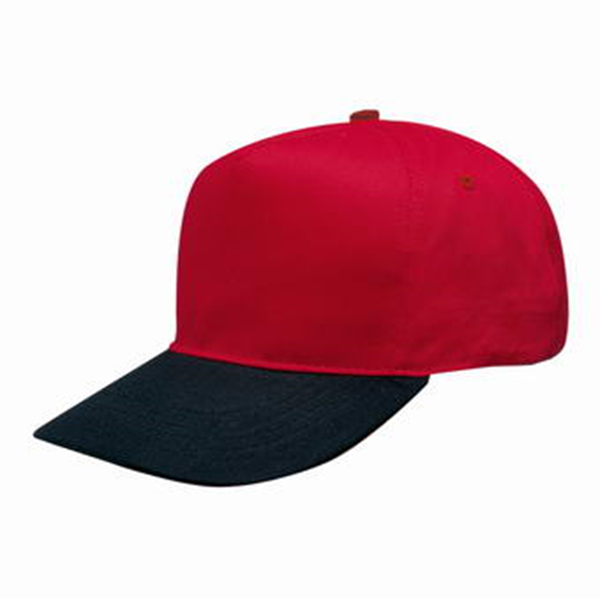 5 PANEL COTTON MAGNUM CAP WITH HARD FRONT