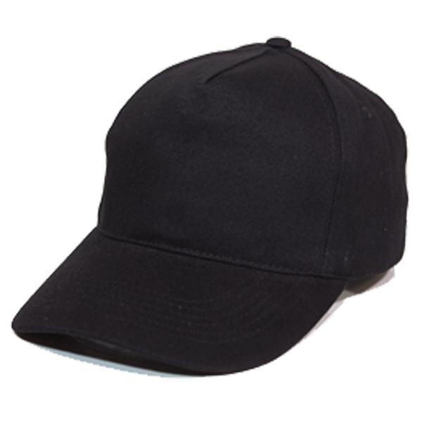 BUDGET 5 PANEL HEAVY BRUSHED COTTON CAP (BD6-01 BLACK) – Sino Hitec ... 4d0e0aa536d