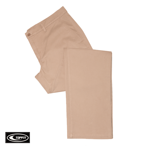 MEN'S BRUSHED COTTON CHINOS