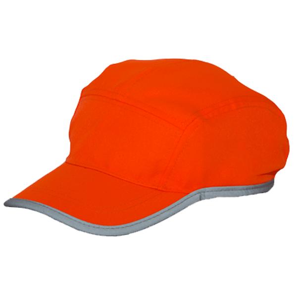 HI VIS SOFT CAP WITH BINDING