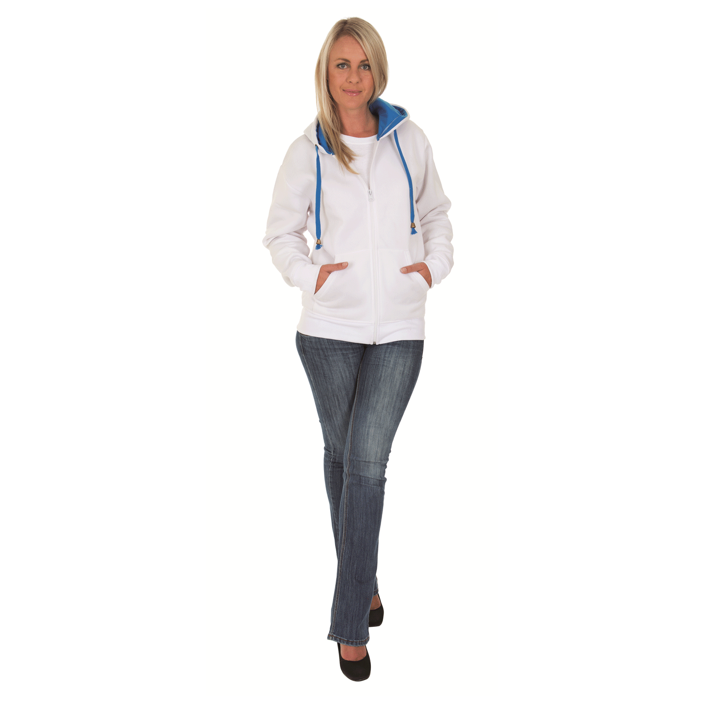 FULL ZIP HOODY - POLYESTER