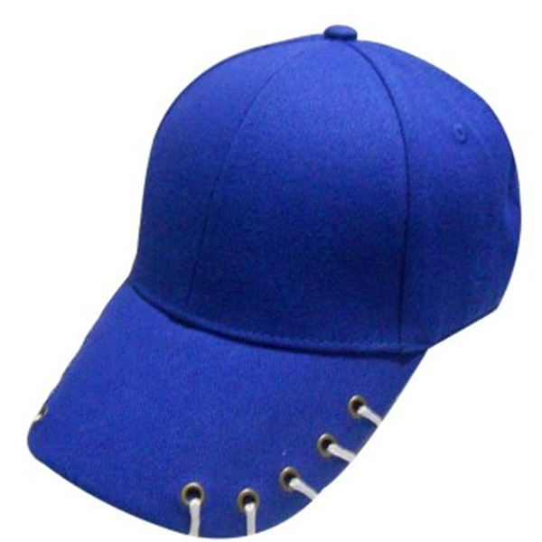 H/B cotton caps with shoelaces