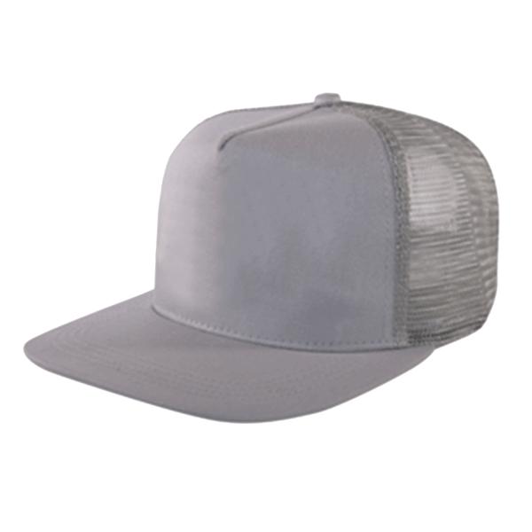 FLAT PEAK MESH BACK CAP (2B07 LIGHT GREY) – Sino Hitec Trading 5f92ee9e9fb
