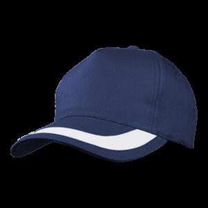 5 PANEL STRIPE PEAK CAP