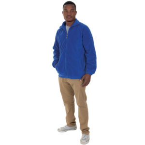 FULL ZIP POLAR FLEECE SWEATER