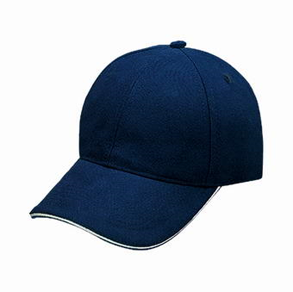 fe2f3e3a56b2 HEAVY BRUSHED COTTON CAP WITH SANDWICH PEAK (8303 BLACK / RED ...